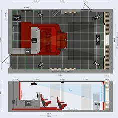 Plannen Voor HT In Kelder   Roma II Driezit Binnen :D. Theatre RoomsHome  TheatreCinema RoomTheaterLuxury InteriorInterior DesignSpaceBasementsAudio