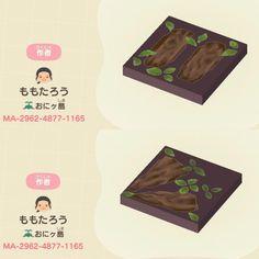 Animal Crossing Wild World, Animal Crossing Villagers, Animal Crossing Qr Codes Clothes, Animal Crossing Pocket Camp, Animal Crossing Game, Motif Acnl, Spring Animals, Path Design, Motifs Animal