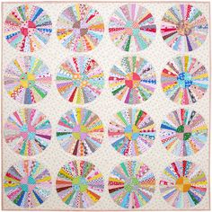 Carousel Quilt   Part 3 - A Finished Quilt   © Red Pepper Quilts 2017