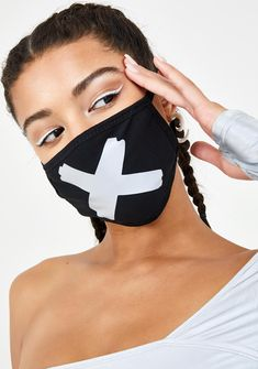 face mask design Stinnys X Mark Reflective Mouth Mask Mouth Mask Fashion, Fashion Face Mask, Mouth Mask Design, Slim And Sassy, Mask Drawing, Maskcara Beauty, Cool Masks, Masks Art, Diy Mask