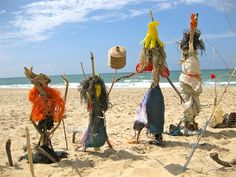 Manbo, or locally known as the Voodoo priestesses are the ones called to do the Voodoo rituals. Voodoo priestesses are also revered as the mentors