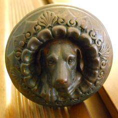 Antique 1869 Russell & Erwin Doorknob Figural by SirGunnisonsFarm, $1695.00
