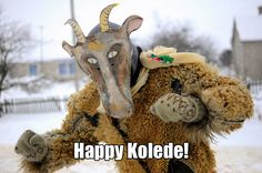 Happy #Kolede to all the #Slavs, and all #space lovers. Today, Elon Musk, who has a huge boner for Slav Nikola Tesla (which makes him honorary Slav) is attempting to send #rocket into space, and then get her back to earth for re-usability. Veles approves. What that basically means, is, we get best #fireworks ever for our holiday! Where's your Jesus now?