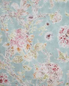Millie, Tutti Frutti  This looks pretty with my painted (light blue) hutch ~mla