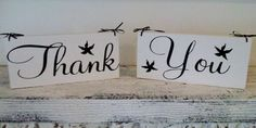 Beach Wedding Destination Thank You signs w by AndTheSignSays, $45.00