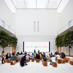 Foster + Partners converts historic Washington DC library into Apple Store Library Store, Open Library, Apple Headquarters, Apple Office, Apple Today, Carnegie Library, Foster Partners, Co Working, Learning Spaces