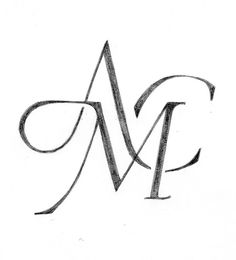 Idea : Getting your monograms designed, or blended together for a big day, or a lifetime together is something the right typographic designer can do. I wouldn't skimp on time and effort to get this right, if I were you.   Imagine this on your towels and notepaper. Refined, and almost whimsical - as noone really bothers with branding themselves anymore!   - Ashvina Naidu, Glowdown