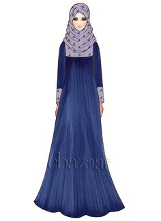 Buy Navy Blue Opal Georgette Abaya online, SKU Code: This Blue color abaya for Women comes with Printed Faux Georgette. Shop Now! Diy Fashion Dresses, Hijab Fashion, Indian Salwar Kameez, Islamic Clothing, Fashion Design Sketches, Abayas, Blue Opal, Color Azul, Dresses Online