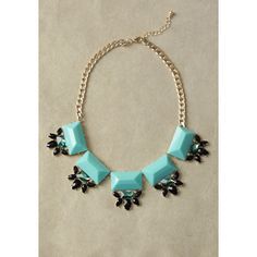 She Walks In Beauty Necklace ($23) ❤ liked on Polyvore