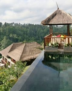 Bali, Indonesia: Ubud Hanging Gardens: This Orient-Express hotel is a charming, unique spot with a boutique spirit. #Jetsetter