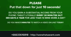 Just click on the image above to get access to our video presentation