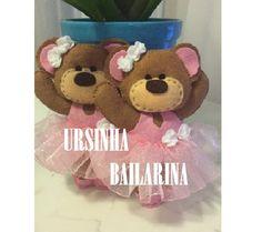 Ursa Bailarina de Feltro