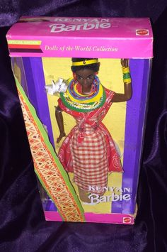 Barbie Dolls of The World Collection Special Edition 1993 Kenyan Barbie | eBay