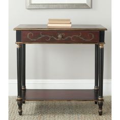Beautiful in suburban or country homes in an entry hall, living room or bedroom, the Ronald console is brimming with traditional details.