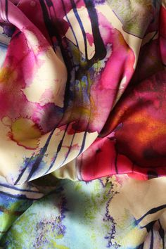 Futures Silk Scarf - LIMITED STOCK AVAILABLE