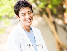Kim Rae Won in Doctor Crush Asian Actors, Korean Actors, Korean Dramas, Doctors Korean Drama, Kim Rae Won, Hospital Doctor, Moonlight Drawn By Clouds, Joo Jin Mo, Weightlifting Fairy Kim Bok Joo