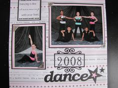 2008 competition dance - Scrapbook.com
