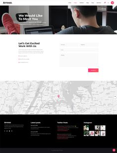 Get Arrosa WordPress theme and boost your business! Creative Portfolio, Competitor Analysis, Get Excited, Creative Business, Wordpress Theme, Web Design, Colorful, Modern, Blog