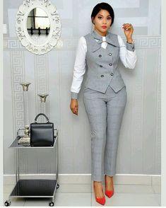 Office Wear Ideas For Ladies - corporate attire women Office Outfits For Ladies, Classy Work Outfits, Work Casual, Casual Wear, Fashionable Outfits, Work Fashion, Fashion Outfits, Fashion Styles, Office Fashion Women