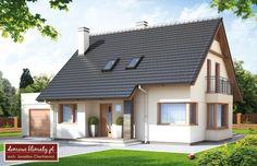 Projekt domu As III G , wizualizacja 1