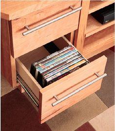 Media Cabinet Storage
