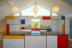 Картинки по запросу пит мондриан интерьер кухня