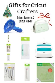 Gift Ideas For Cricut User. Have a friend or family member that loves to create with their Cricut Machine? Looking for a gift idea for that perfect Birthday or Christmas gift? I have the ultimate list for you, of my favoriteitems that I love and any Cricut uses would love to get for a gift. Most are budget-friendly and a few are a dream gift. You can not go wrong buying accessories for a crafting friend they will love you for it.#cricut#gift#cricutgifts