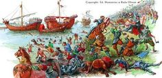 The Battle of Nicopolis (Turkish: Niğbolu Muharebesi) took place on 25 September 1396 and resulted in the rout of an allied crusader army of Hungarian, Bulgarian, Croatian, Wallachian, French, Burgundian, German and assorted troops (assisted by the Venetian navy) at the hands of an Ottoman force, raising of the siege of the Danubian fortress of Nicopolis and leading to the end of the Second Bulgarian Empire.