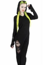 Killstar Nu-war maxi dress | deadfine.fi