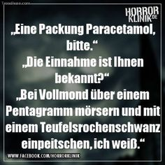 Voodo Source by Some Quotes, Best Quotes, Funny Jokes, Hilarious, German Quotes, Funny Pins, Funny Stuff, Picture Quotes, Sarcasm