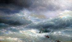 Aivazovsky The billow