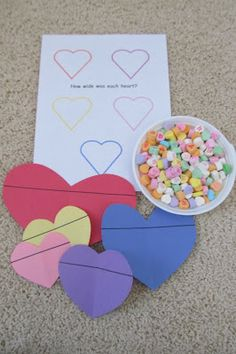 Hart 2 Hart: an abundance of Valentine's Day ideas Holiday Crafts For Kids, Holiday Themes, Holiday Fun, Preschool Themes, Kindergarten Activities, Preschool Activities, Valentine Theme, Valentine Day Love, Tot School