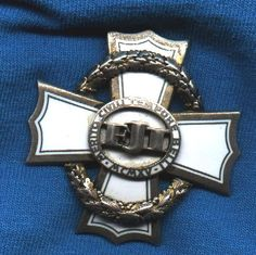 War Merit Cross for Civil Merit: 3rd class.  A beautiful enameled award. Instituted in August, 1915 this was awarded for exceptional meritorious service to the Empire. There were four classes of the award and the class of the award denoted ones social rank rather than achievement. The 1st class (often seen worn by Emperor karl) was 64mm in diameter. The three lower classes are 44mm in diameter and silver-gilt (2nd), silver (3rd) and bronze (4th class). The reverse is plain with silver marks.