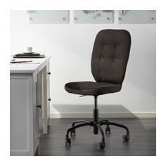 IKEA - LILLHÖJDEN, Sedia da ufficio, Idemo nero,  , , Ti offre una seduta…