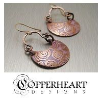 How to Etch Copper #jewelry #tutorial