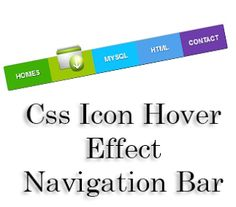 Css Icon Hover Effect Navigation Bar For Blogger | Blogger Trix | Blogger Tips and Tricks | Free Templates