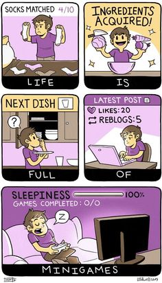 Life is full of Minigames