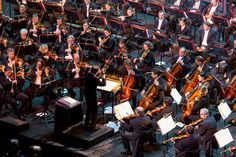 6th Film Music Festival - The Grand Gala of Film Music. 10 composers for 10th RMF Classic Anniversary - Polish National Radio Symphony Orchestra - Pro Musica Mundi Choir - Gavin Greenaway - pic. Wojciech Wandzel www.wandzelphoto.com