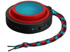 Caixa de Som Philips BT2000R/00 2W RMS - Acústica Bluetooth com Alça de Transporte