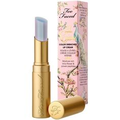 Too Faced La Creme Lipstick 'Unicorn Tears' 0.11oz/3.0g New In Box (245 BRL) ❤ liked on Polyvore featuring beauty products