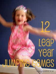 Jump to it! Leap Year fun for kids: action games combining maths, literacy, art and jumping for joy.