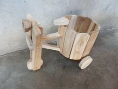Thai Teak Wood Tricycle Flower pots Natural Handicraft by Thai Teak Wood. $27.70. This beautiful tricycle is made of teak wood, the wood widely used for making furniture because of its resistance to insects. The dimension approximately is 9 inches x 6.5 inches. weight 500 g.