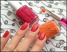 Essie Summer 2014 Nail Art