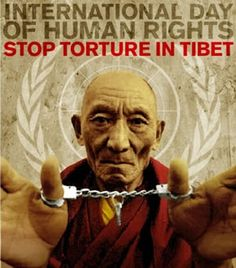 More awareness needs to be spread about Tibet and the lack of human rights that exist there.