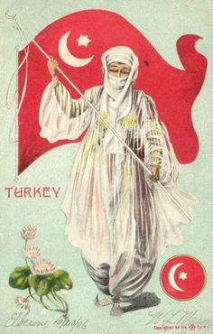 Ottoman Turkey yr 1906 carte-postale