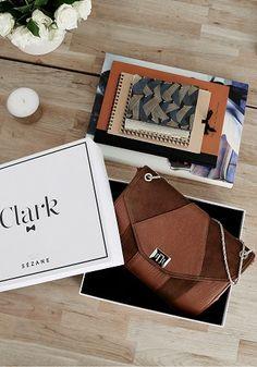 Sézane / Morgane Sézalory - Clark café  www.sezane.com/fr  #sezane #bag #handbag #frenchbrand