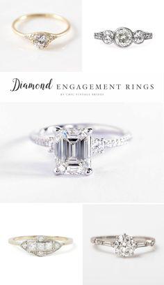 Timeless Diamond Engagement Rings
