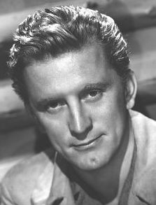Kirk Douglas (born Issur Danielovitch, Russian: December 9, 1916) is an American stage and film actor, film producer and author. Douglas enlisted in the United States Navy in 1941, shortly after the United States entered World War II. He attended Midshipman School at Notre Dame University, and later was commissioned as an ensign. He served with an anti-submarine patrol in the Pacific until medically discharged following injuries in 1944.