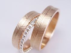 Birthday Gifts For Best Friend, Best Friend Gifts, Wedding Rings Rose Gold, Wedding Bands, Gold Wedding, Engagement Rings Couple, Swarovski Jewelry, Bling, Etsy