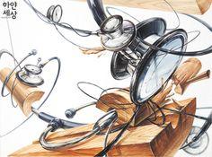 2017 기초디자인 5월 연구작 3 Object Drawing, Art Boards, Texture, Drawings, Creative, Painting, Inspiration, Design, Craft